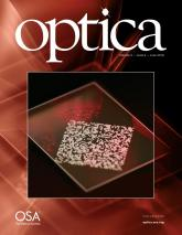 Cover Optica, Vol. 5 Iss. 6 2018