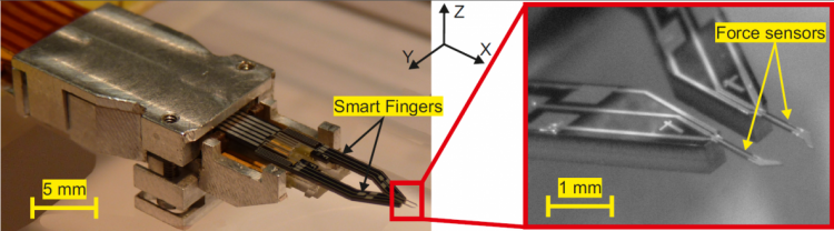 Two-Smart-Fingers-Microgripper